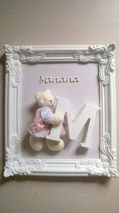 Repurposed old picture and window frames. DIY project and decoration ideas. How to create decor with picture and window frames. Baby Decor, Nursery Decor, Nursery Room, Baby Crafts, Diy And Crafts, Craft Gifts, Diy Gifts, Craft Projects, Projects To Try