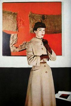 Harper's Bazaar September 1955 Photo by Louis Dahl Wolfe