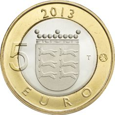 Maakuntien rakennukset - Pohjanmaa. Finland Country, Iceland Island, Euro Coins, World Coins, Coin Collecting, Postage Stamps, Baja California, Countries, Design
