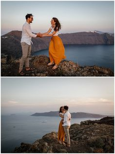 Santorini and it's beautiful villages Oia, Imerovigli and Firostefani are one of the most romantic and dreamiest places to elope and get married. This romantic couple shoot shows the beauty of Santorini on the caldera edge with a view! Kitten Rescue, Santorini Wedding, Boat Tours, Romantic Couples, Stunning View, Couple Shoot, Nice View, Getting Married, Photo Shoot