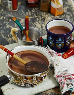 Mexican hot chocolate #ArtofEatingWell