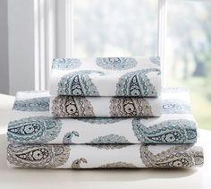 Emma Paisley Organic Sheet Set