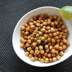 Dill Pickle Roasted Chickpeas, a recipe from ATCO Blue Flame Kitchen's Holiday Collection 2013 cookbook. Appetizer Recipes, Dog Food Recipes, Snack Recipes, Snacks, Appetizers, Edible Gifts, Chickpeas, Holiday Baking, Food Gifts