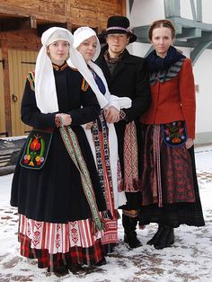 Klaipdėda folk costume, Lithuania