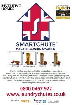 Smartchute Laundry Chute - Build It Awards nominated