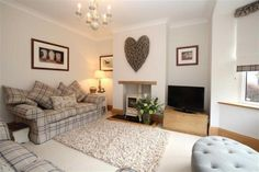 3 bedroom semi-detached house for sale in High Startforth, Barnard Castle, County Durham - Rightmove Photos Cottage Living Rooms, New Living Room, Living Room Modern, Home And Living, Living Room Designs, Cosy Living Room Decor, Colour Schemes For Living Room, Log Burner Living Room, Modern Wall