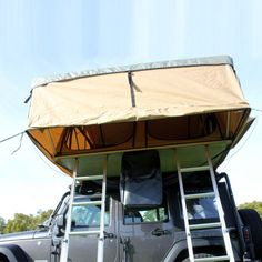 """Tuff Stuff® 5 Person """"Elite"""" Overland Roof Top Tent & Annex Room - Tuff Stuff® 4x4 