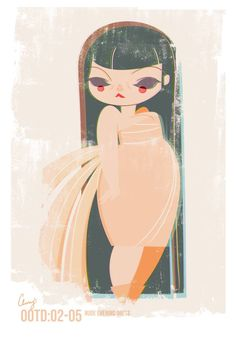 Plus+Size+Art:+Cherry+from+Studio+Killers+OOTD-Nude+vintage+evening+gown