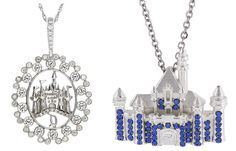 Add more sparkle to your Disneyland Resort Diamond Celebration merchandise collection with the Disney Dream Collection (Diamond Castle Pendant, Sterling Silver Sleeping Beauty Castle Necklace).