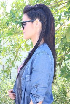 Braid, hair