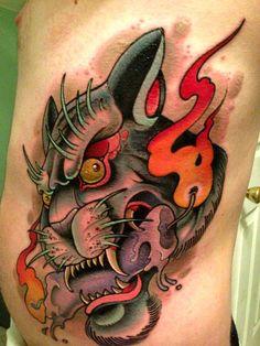 Tattoo done by David Tevenal.