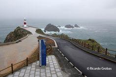 Nuevo acceso al faro de Cabo Ortegal. http://www.vivirgaliciaturismo.com/cambio-de-look-en-cabo-ortegal/