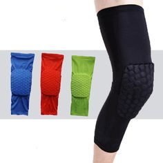 Di alta qualità mcdavid traspirante basket shooting sport di sicurezza rilievi ginocchiera honeycomb pad bumper brace kneelet ginocchio di protezione