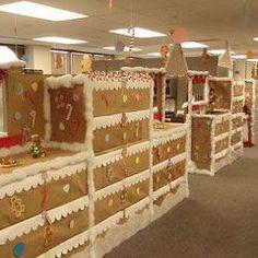Office decoration christmas Pinterest Christmas In Your Office Pinterest 26 Best Christmas Office Decor Images Xmas Office Christmas