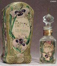 edwardian-time-machine:  Edwardian Perfume and packaging - Floramye Perfume By L.T. PiverSource