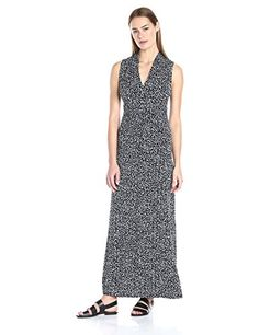 maxi dress knot graphic