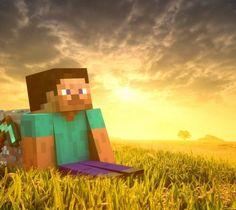 Minecraft sunrise  #minecraft -  sunrise
