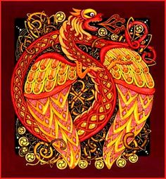 """Anglo-Saxon Dragon 