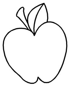 How To Draw Apple Coloring Page : Coloring Sky Apple Coloring Pages, Coloring Pages For Kids, Apple Picture, Clay Pot Crafts, Online Coloring, Sky, Logo, Drawings, Black