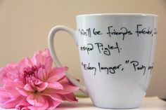 Pooh's not really my thing but I've always loved this quote.  $15.00, via Etsy.