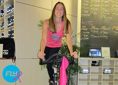 """""""No matter how many times people told me how much I inspired them, I told them 'not as much as you inspire me.'"""" Flywheel instructor Candee McAloon has survived breast cancer twice in a span of five years. Through chemo, radiation and numerous surgeries, she never missed a class. Read her amazing story here:"""