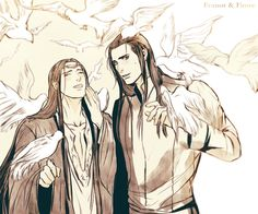 Feanor and Finwe <3 <3 <3