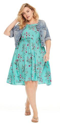 Plus Size Summer Dress #plussize