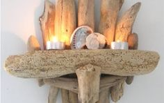 driftwood art | ... driftwood art and crafts on her website Green Point Designs. Update