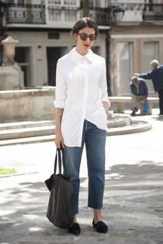 :: Sometimes a white shirt is all you need ::