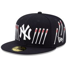 Men's New Era Navy New York Yankees Spike Lee Champion Collection Bat Logo Fitted Hat Yankees Gear, Yankees Logo, New York Yankees, Nba Hats, Spike Lee, New Era Hats, Sports Fan Shop, New England Patriots, Hats For Men