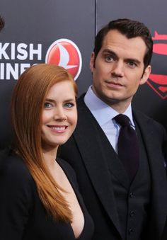 Amy Adams and Henry Cavill at event of Batman v Superman: Dawn of Justice (2016)