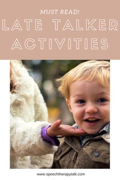 """""""Late talker activities - how to help a child start talking through play"""" At-home speech activities to help late talkers. (Pinned by OLS) Speach Therapy For Toddlers, Play Therapy Activities, Language Activities, Toddler Activities, Child Development Activities, Toddler Development, Speech Pathology Activities, Articulation Activities, Autism Activities"""