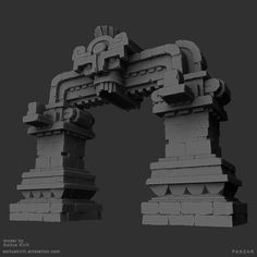 ArchElements_Maya by Soltus Kirill on ArtStation. Celtic Symbols, Mayan Symbols, Egyptian Symbols, Ancient Symbols, American Indian Tattoos, Wiccan Tattoos, Chicano Tattoos, Inca Tattoo, Foggy Forest