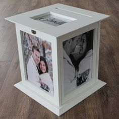 Ivory Wedding Card Box by The Perfect Card Box