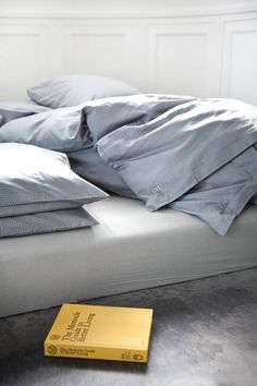 GoodNorm bed linen designed by NORM Architects forDanish design company Menu   via Style and Create