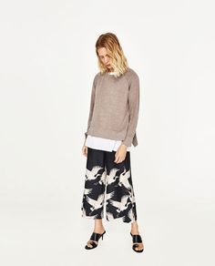 Image 1 of FLOUNCE SWEATER from Zara
