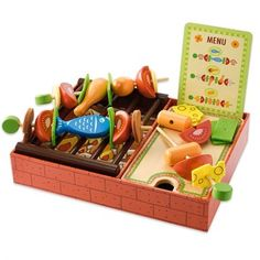 Coffret barbecue Barbecue, Wood Toys, Toys For Girls, Cute Kids, Baby Items, Childhood, Organization, Children, Djeco