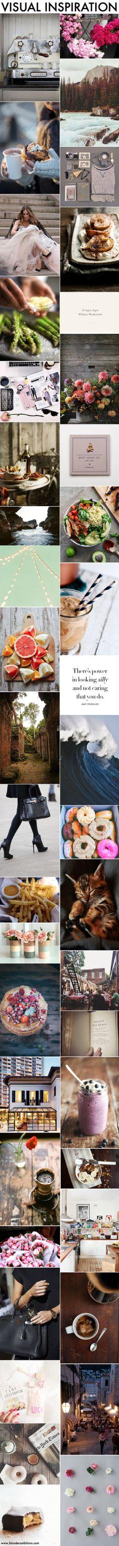 BLONDER AMBITIONS | VISUAL INSPIRATION. fashion. blog. fashion blog. lifestyle. travel. nature. organization. coffee. luxury. pink. feminine. classic. style.