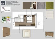 Overview of bedroom layout Hotel Bedroom Design, Bedroom Layouts, Floor Plans, Contemporary, Hotel Room Design