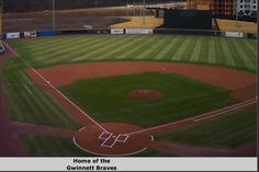 Coolray Field - home to the Gwinnett Braves,