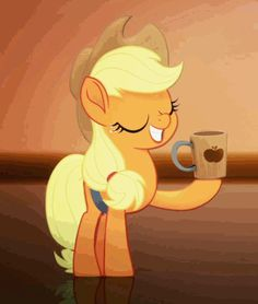 #1558332 - animated, applejack, cider, cider mug, cowboy hat, cropped, cute, duo, earth pony, edit, edited screencap, female, gif, hat, jackabetes, lyrics, mare, mug, my little pony: the movie, pegasus, pony, rainbow dash, rainbow (song), safe, screencap, silly, silly pony, spoiler:my little pony movie, stealing, text, theft - Derpibooru - My Little Pony: Friendship is Magic Imageboard Applejack Mlp, My Little Pony Applejack, Rainbow Songs, Mlp Cutie Marks, My Little Pony Movie, Mlp Memes, My Little Pony Wallpaper, Mikaela Hyakuya, Little Poni