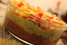 three Layer Super Bowl Dip (Semi-raw, vegan, gluten free and soy free)