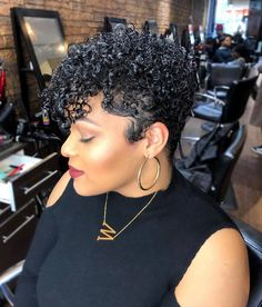 Today we have the most stylish 86 Cute Short Pixie Haircuts. Pixie haircut, of course, offers a lot of options for the hair of the ladies'… Continue Reading → Short Curly Hair, Wavy Hair, Short Hair Cuts, Curly Hair Styles, Natural Hair Styles, Short Pixie, Latest Short Haircuts, Pixie Cut Wig, Pixie Haircut
