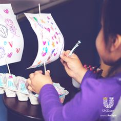 Get the creative juices flowing. What fun thing will your little hero dream up from something that would usually go straight to the bin?