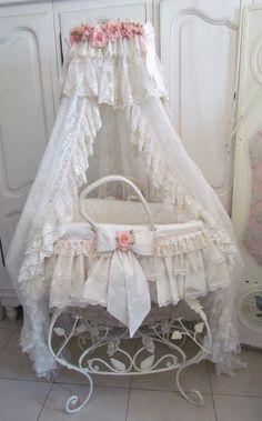 Laura's first born daughter bassinet Rosetta