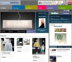 Gabriel Online é um portal voltado para a área de design e decoração. O veículo oferece um guia das lojas mais interessante do mercado, dando destaque para estabelecimentos localizados na rua pauli…