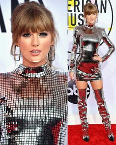 Taylor Swift on The American Music Awards 2018 Taylor Swift 2018, Taylor Swift Hair, Taylor Swift Concert, Taylor Alison Swift, American Music Awards, American Singers, Taylor Swift Wallpaper, Taylor Swift Pictures, New Fashion Trends