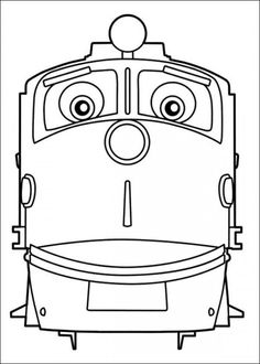 chuggington coloring pages picture 2 - Chuggington Wilson Coloring Pages