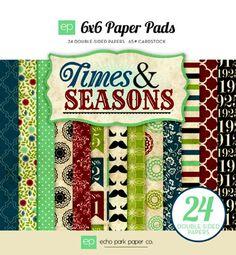 Echo Park Times & Seasons