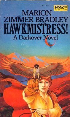496 Marion Zimmer Bradley Hawkmistress! Richard Hescox Sep-82 Darkover.#